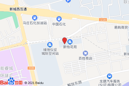新怡花苑地图信息
