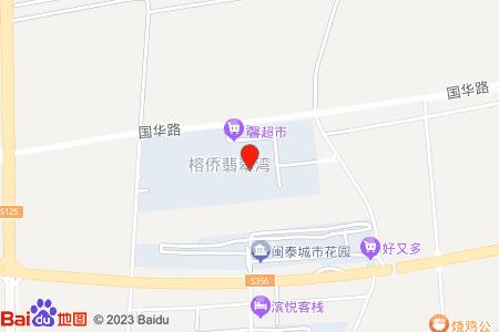 榕僑翡翠灣地圖信息