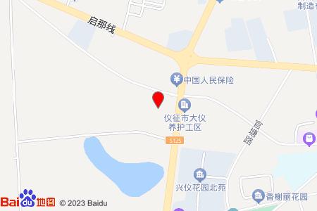 现代花苑地图信息