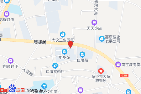 申華苑地圖信息