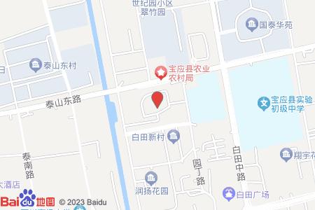 寶應書香名府地圖信息