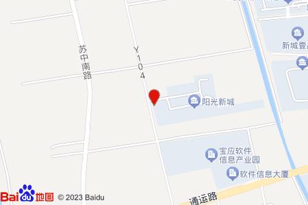 宝应阳光新城地图信息