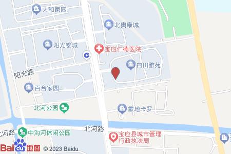白田雅苑地图信息