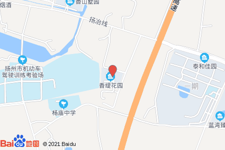 香缇花园地图信息