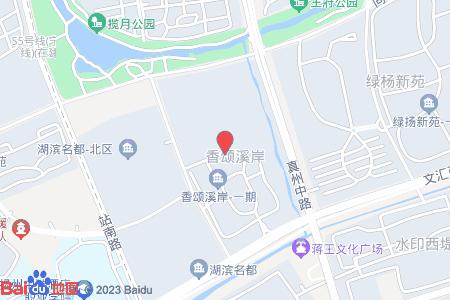 香颂溪岸地图信息