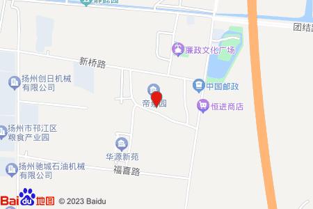 帝景园地图信息