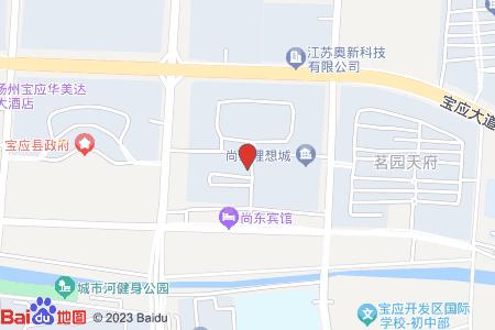 大上海國際公寓地圖信息