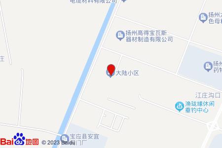 大陆小区地图信息