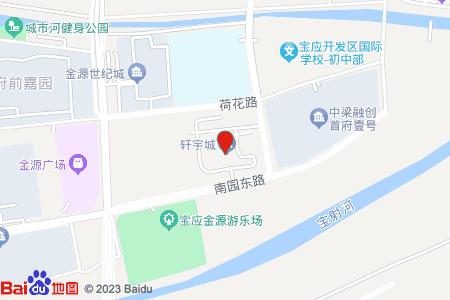 轩宇欧洲城地图信息