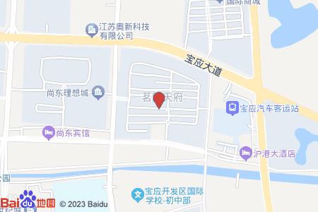 茗園天府地圖信息