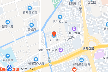 方正苑地圖信息
