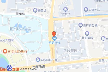 新港名城花园地图信息