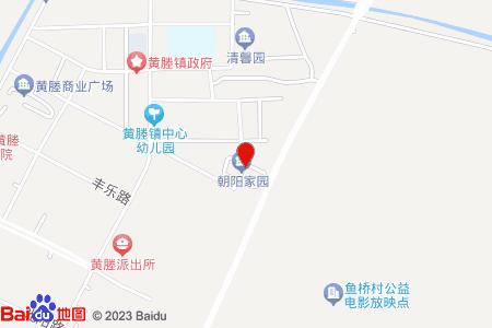 朝阳家园地图信息
