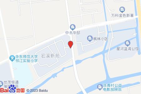 宏溪新苑地圖信息