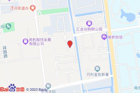 银桥小区地图信息