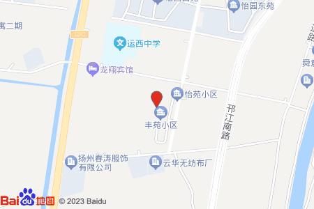 丰苑小区地图信息