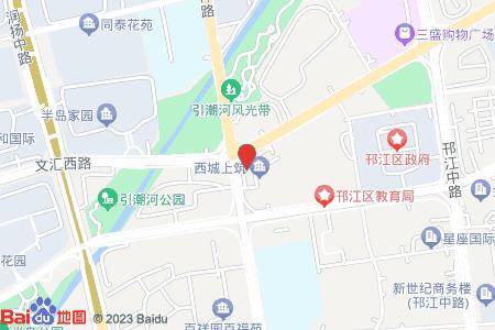 树宏西城上筑地图信息
