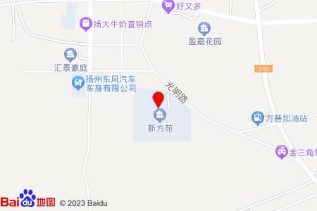 新方苑地图信息