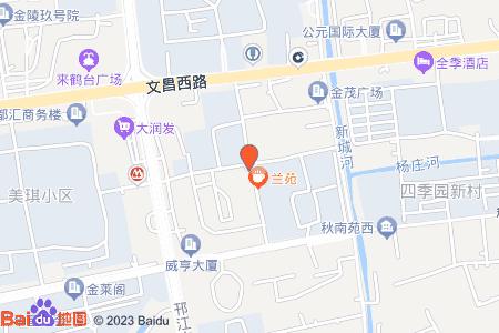 兰苑地图信息
