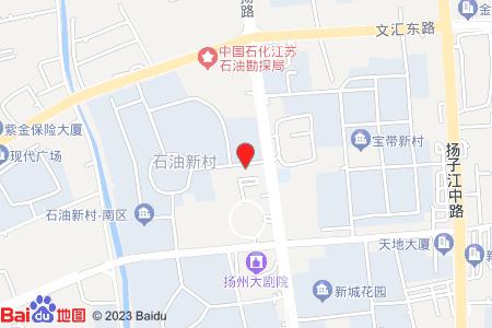 石油新村地圖信息