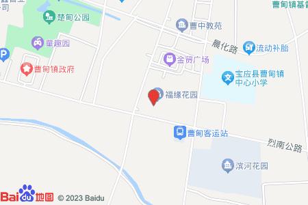 曹甸京华苑地图信息