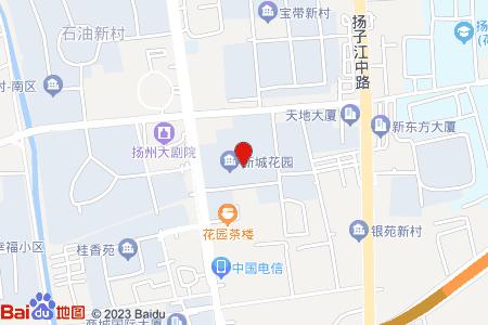 新城花园地图信息