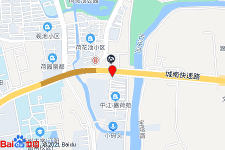 中江嘉荷苑地图信息