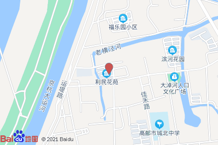 利民花苑地图信息