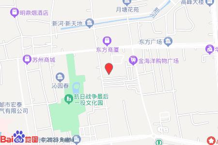 邮城花苑地图信息