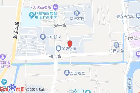 扬子佳竹苑地图信息