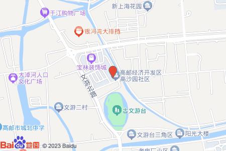 高沙園小區地圖信息