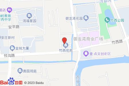 竹西花苑地图信息