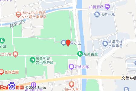 大草小区地图信息