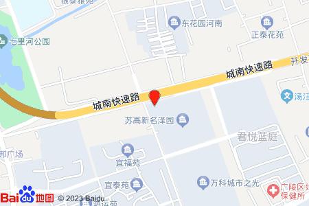 新港名泽园地图信息