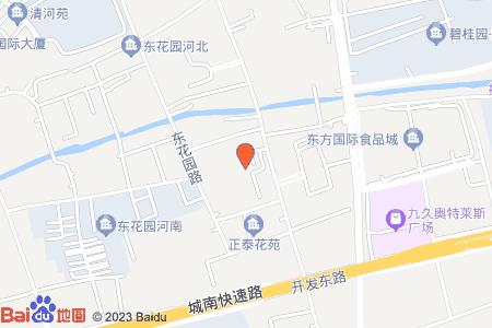 东盛花园地图信息
