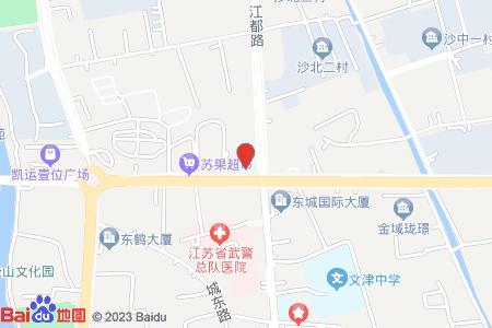 沙北一村地圖信息