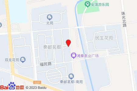 秦郵茗都地圖信息