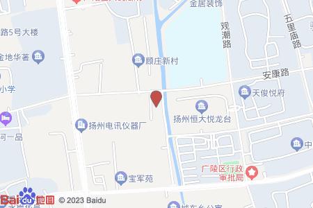 安康南苑地图信息