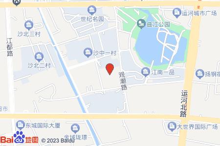 沙中一村地圖信息