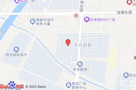 佳晟东方御景地图信息