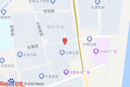 文昌北苑地图信息