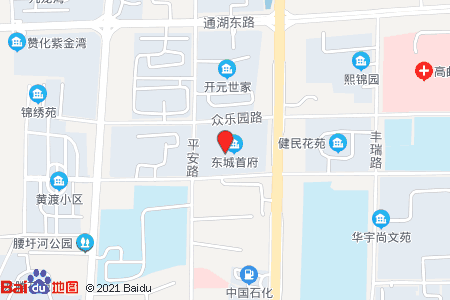 东城首府地图信息