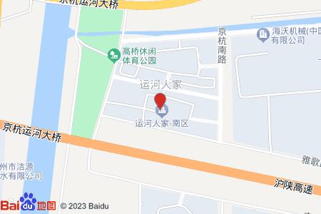 運河人家地圖信息