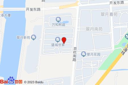 盛城世家地圖信息