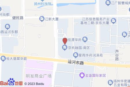 京杭融園地圖信息