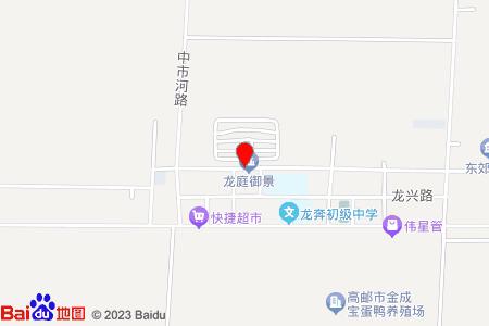 龙庭御景地图信息
