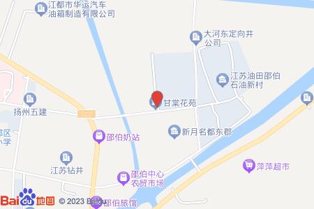 甘棠花苑地圖信息