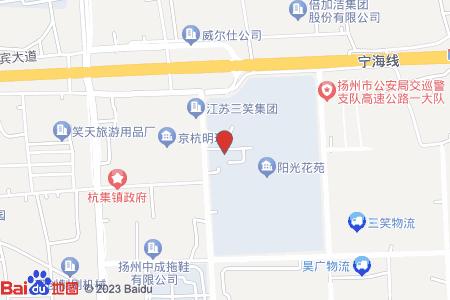 扬州阳光花苑地图信息