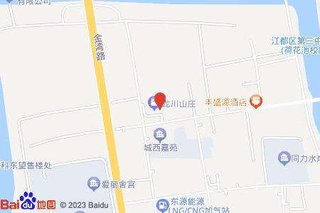 龍川山莊地圖信息
