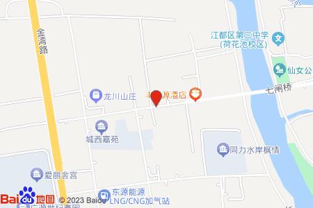西城印象地圖信息